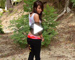 public pickups video naked in the woods
